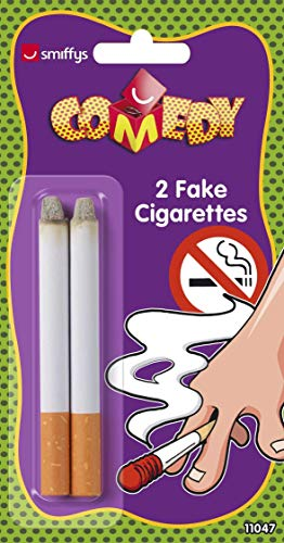 Smiffys Fake Zigaretten, Time 4 Fun, 2er Pack, 11047