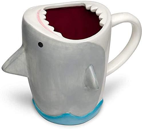 TG | Shark Attack Keramiktasse | 284 ml | Spaß für alle Altersgruppen