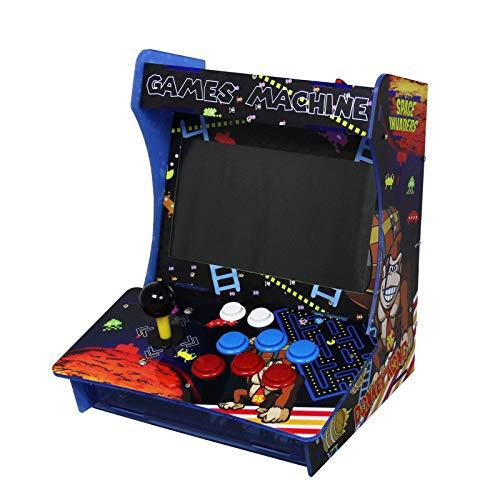 MonsterShop Retro Arcade Games Maschine Arcade Tisch Spielautomat Spielkonsole Retro-Spielautomat Videospielmaschine Videogame-Automat Video Spiele