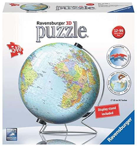 3D-Puzzle der Welt für Puzzle-Konstrukteure