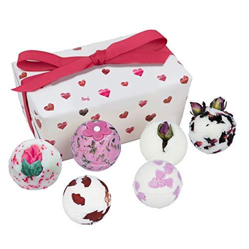Bomb Cosmetics Little Box of Love Ballotin, Geschenkset, 1er Pack (1 x 6 Stück)