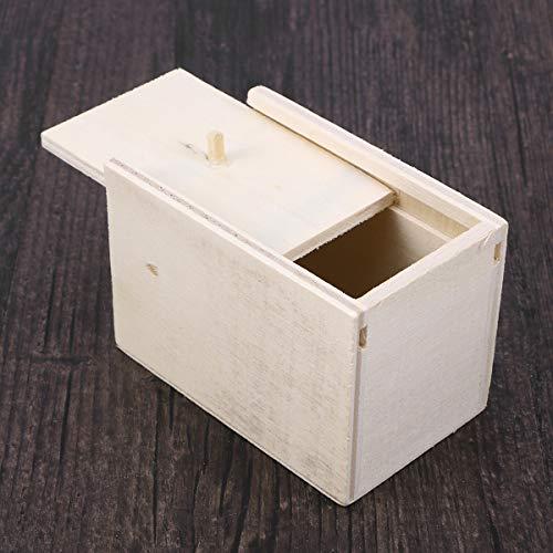 STOBOK Spinne Überraschung Streich Holz Angst Box Witz Spielzeug Narren Day Box für Erwachsene Kinder (White Board, Spinne) - 5