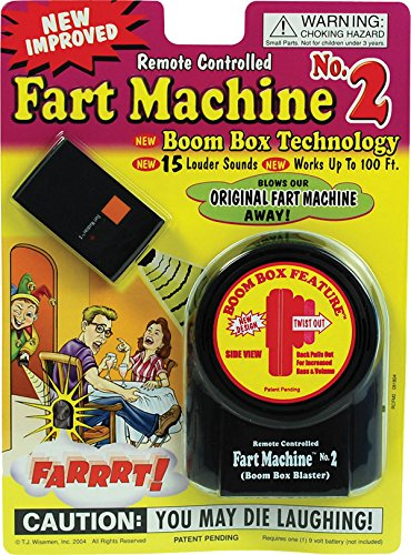 Remote Controlled Fart Machine for fancy dress Accessory