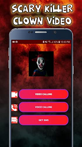 Scary killer Clown Video Call - Chat Prank 2020 - 9