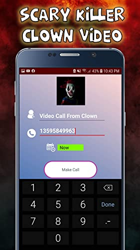 Scary killer Clown Video Call - Chat Prank 2020 - 8