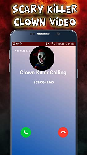 Scary killer Clown Video Call - Chat Prank 2020 - 7