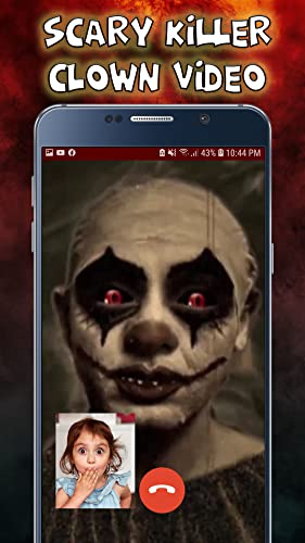 Scary killer Clown Video Call - Chat Prank 2020 - 10