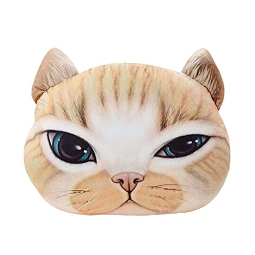 Lustiges 3D Katzen Dekokissen Plüsch Polster