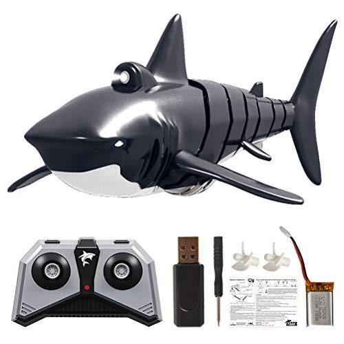 Halsey99 2.4G Fernbedienung Simulation Shark Elektronische Shark Spielzeug RC Boot Prank Badewanne Pool Spielzeug Fernbedienung Shark