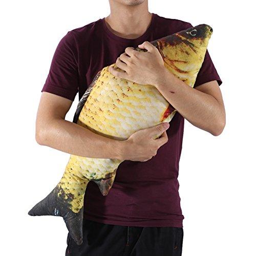 Dekokissen Plüschtier Karpfen - der flauschigste Fisch den es für Zuhause gibt