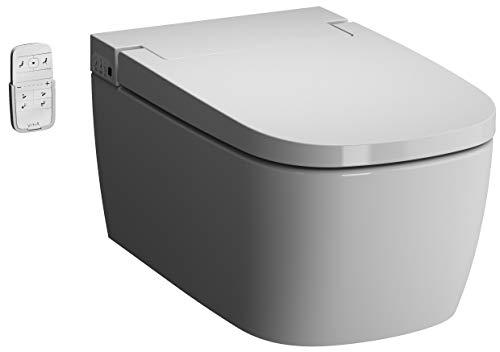 Vitra V-CARE Basic spülrandlos mit Bidetfunktion, Taharet, Taharat Dusch WC inkl. Softclose WC-Sitz