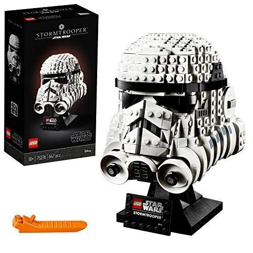 LEGO® 75276 Stormtrooper Helm, Bauset, Star Wars Sammlerobjekt für Erwachsene, bunt