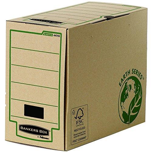 Bankers Box 4470301 Earth Series Archivschachtel (A4, 150mm) 20 Stück, braun