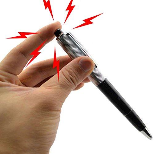 CALISTOUK Elektroschocker Stift Elektroschocker Kugelschreiber Elektro Shock Pen