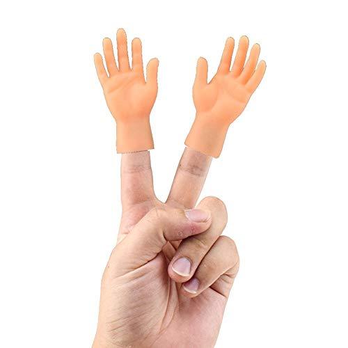 hook.s Fingerhände, Mini Gummipuppen Original Fingerhände Spielzeug, Neuheit für Familie und Freunde