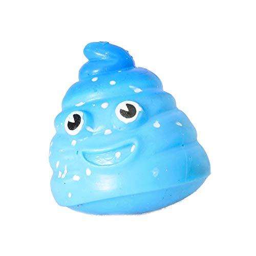 Unbekannt Splat Poo Kackhaufen Scherzartikel in blau - Poo Scheisshaufen Spaßartikel Gadget