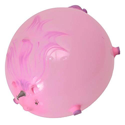 trendaffe Einhorn Ballon Ball Scherzartikel in rosa - Einhorn Ballon-Ball Spaßartikel - 2