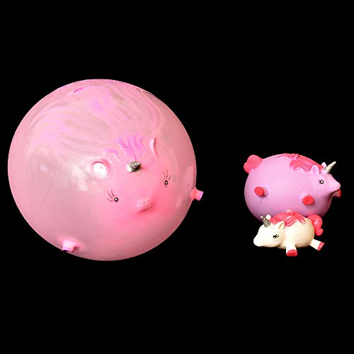 trendaffe Einhorn Ballon Ball Scherzartikel in rosa - Einhorn Ballon-Ball Spaßartikel - 3