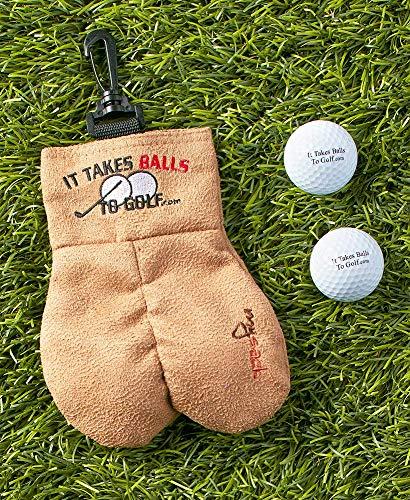 """Rosetta Brands Mysack """"it Takes Balls To Golf"""" (""""zum Golfen Braucht Man Eier In Der Hose""""), , FR-J969-M3BL"""